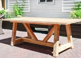 diy backyard tables home outdoor decoration