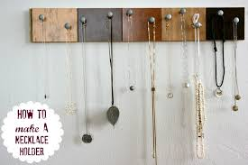 necklace organizer display images 25 creative solutions to necklace organization the thinking closet jpg