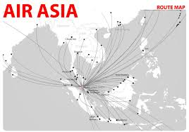 airasia bandung singapore international flights air asia route map