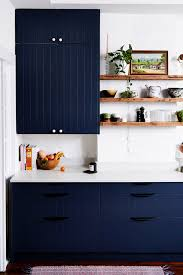 ikea blue grey kitchen cabinets the easiest way to make ikea cabinets look high end real