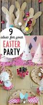 Easter Party Table Decorations by Best 25 Easter Party Ideas On Pinterest Easter Happy Easter