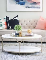 Tables Living Room by Living Room Marble Coffee Table Tufted Sofa Light And Airy