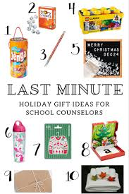 counselor blog last minute gift ideas for counselors