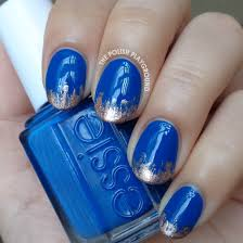 piggieluv blue roses for autism winter blues blue roses nail art