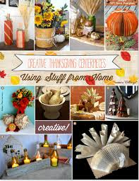 thanksgiving decoration diy thanksgiving centerpieces 21 ideas using household and garden items