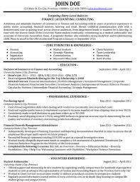 Accountant Resume Sample by Resume Resume Sample U0026 Template