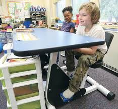 best desks for students the kinetic classroom the pedal desk adhd and the mind body