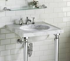 carrara marble console sink bathroom console vanity incredible console sinks for small
