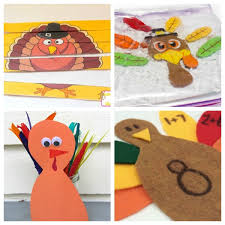 adorable turkey craft ideas and activities for