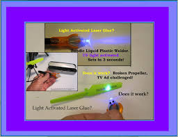 what does uv light do uv light activated laser glue broken prop tv ad challenged by