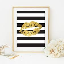 Black And Gold Room Decor Popular Items For Black And Gold On Etsy Room Pinterest Gold