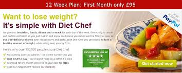 diet chef a weight loss program which serves great food