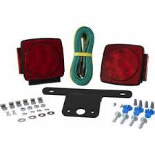 blazer led trailer lights blazer led submersible square trailer light kit for trailers under