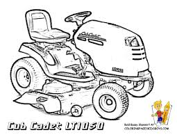 john deere lawn mower coloring pages coloring pages pinterest