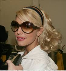 jessica simpson headband hair extensions bad hair day ashlee and jessica simpson