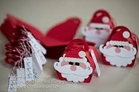 curvy keepsake santa gift boxes with moustache and punch art by
