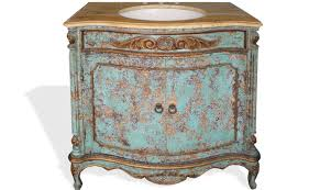 Painted Vanities Bathrooms Hand Painted Bathroom Vanity Turquoise Furniture Finds U0026 More