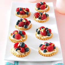 fresh berry u0026 almond tarts recipe taste of home