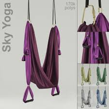 3d models sports sky yoga hammock