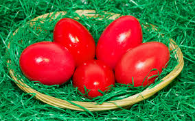 easter eggs wallpapers easter red eggs wallpaper 2560x1600 26379