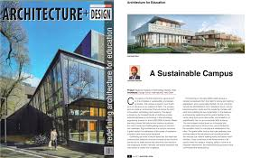 design forum international linkedin our upcoming project national institute of technology delhi got featured in architecture design world s oldest architectural journal in their july issue
