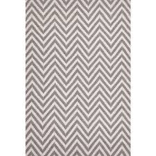 larkspur grey chevron eco friendly cotton u0026 jute rug