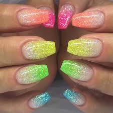 3g 6 color diy beauty glitter phosphor 3d glow nail art