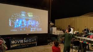 12 foot outdoor movie cinema service desert air cinema
