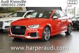 audi knoxville tn audi rs3 for sale in knoxville tn