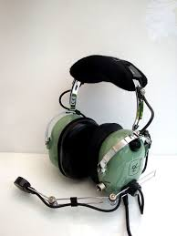 clark h10 66 aviation headset dual impedance u174 plug
