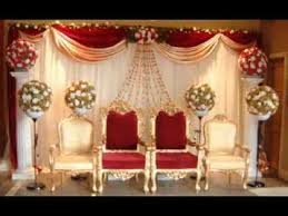 Stage Decoration Ideas Diy Wedding Stage Decorating Ideas Youtube