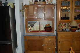 Vintage Enamel Top Kitchen Cabinet by Antique Kitchen Cabinet