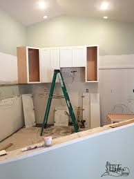 Kitchen Cabinet Blog Our Long Awaited Kitchen Cabinet Install Day U2013 The Steel Fox Home