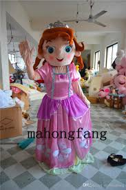 halloween mascot costumes cheap lovely princess sofia frozen princess anne puzzle pink character