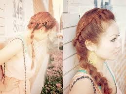 braided pinup hairstyles hair tutorial trendy retro braids youtube