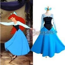 Sleeping Beauty Halloween Costume Custom Mermaid Princess Ariel Dress Sleeping