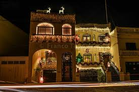 just like santa s grotto a house in nadur gozo shine brightly