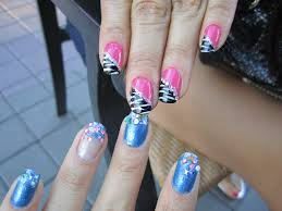 pink and blue nail designs nail designs hair styles tattoos