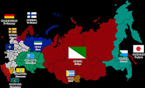 Poland Map Flag Flag Map Of A Balkanized Russia Following Ww3 Vexillology