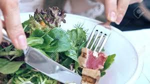 restaurant cuisine nicoise tuna and lettuce nicoise salad at the restaurant haute