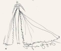 pippa middleton u0027s wedding dress designers sketch their