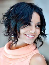 angled curly bob haircut pictures messy angled bob haircut black short wavy bob hairstyle best