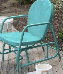 Garden Rocking Chair by Outdoor Patio Glider Rocking Chair Retro Swing Vintage Furniture