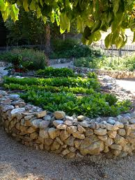 building raised garden beds with rocks home outdoor decoration