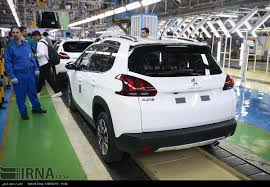 peugeot company car iran khodro beging mass production of peugeot 2008