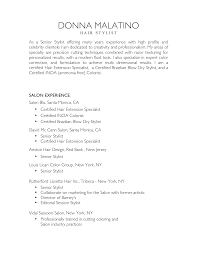 High Profile Resume Samples by Hair Stylist Assistant Resume Sample Free Resume Example And