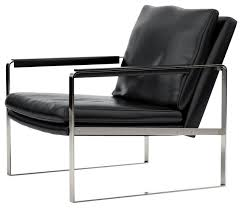 Black Leather Accent Chair Sofa Graceful Black Leather Armchair Armchairs And Accent Chairs