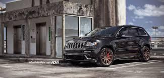 stanced jeep srt8 jeep grand cherokee srt black wheels jeep grand cherokee srt