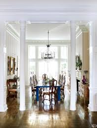 Dining Room Columns 8 Homes With Grand Interior Columns Photos Architectural Digest