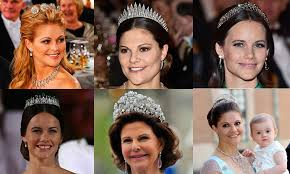 tiara collection the swedish royal family s most stunning tiaras hello canada
